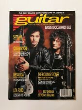Guitar For The Practicing Musician March 1990 Satriani Queensryche Lita Ford