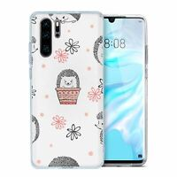 For Huawei P30 PRO Silicone Case Hedgehog Pattern - S2251