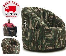 Big Joe Milano Bean Bag Chair Camo College Dorm Room Kids Video Gaming TV Lounge