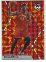 2019-20 Panini Mosaic Orange Reactive Prizm #19 Pascal Siakam Raptors NBA🏀