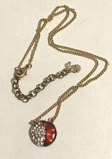 Lucky Brand Crystal / Red Necklace 011N