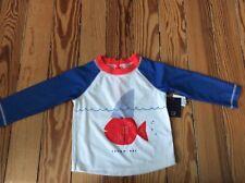 Toddler boy swim shirt, S 18-24 months, Baby Gap (27-30 lbs) Tough guy