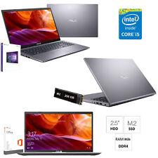 """Notebook Asus i5-8265U,Ram 8Gb,Ssd M.2 256Gb,15.6"""",Windows 10 64bit+OFFICE 2019"""