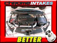 CF BLACK RED 06 07 08 09 CHEVY MALIBU/PONTAIC G6 3.9 3.9L V6 FULL AIR INTAKE KIT