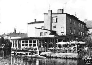 AK, Malchow Meckl., Café am Malchower See, 1970