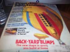 Popular Mechanics July 1977 Back-Yard Blimps