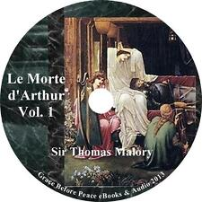 Le Morte d'Arthur, Vol 1 Sir Thomas Malory Audiobook unabridged Fiction 1 MP3 CD