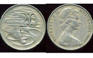 AUSTRALIE 20 cents 1967   ANM