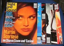 SIGHT & SOUND MAGAZINES VARIOUS ISSUES 1995 - 1996 - 1997 - 1998 - 1999