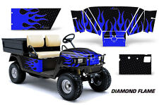 Golf Cart Graphics Kit Decal Sticker Wrap For E-Z-Go Workhorse 96-03 DFLAME U K