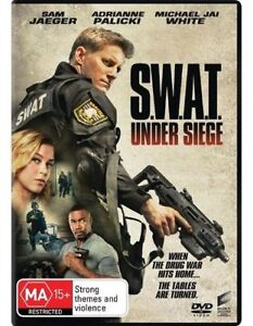 SWAT UNDER SIEGE DVD, NEW & SEALED, 2017 RELEASE, FREE POST