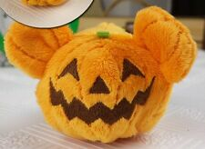 "Disney Tsum Tsum plush Pumpkin Mickey Halloween Stuffed Toy Gift 3 1/2"" New"