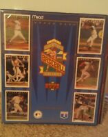 Mead 1993 Upper Deck Baseball Binder Portfolio Trading Cards MLB NEW Vintage