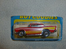 NEW ON CARD HOTWHEELS 57 CHEVY NO 9638 VINTAGE 1977 MATTEL DIECAST HOT WHEEL CAR