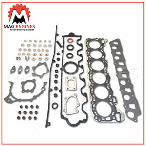 FULL GASKET KIT & HEAD BOLT SET NISSAN RD28-T FOR Y61 PATROL SAFARI CEDRIC 2.8 L