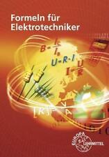Formeln für Elektrotechniker von Dieter Isele (2020, Pamphlet)