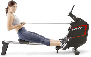 Marcy Foldable Magnetic Resistance Rowing Machine NS-6002RE – Adjustable Resista