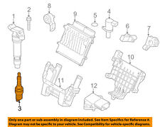 VOLVO OEM 11-15 XC60 3.2L-L6 Ignition-Spark Plug 31286359