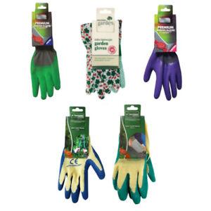 Assorted Mens & Ladies Pairs Garden Gloves - Kingfisher Gardening (1 Supplied)