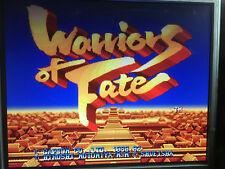 WARRIORS OF FATE ARCADE PCB JAMMA BOOTLEG