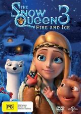 The Snow Queen 3 Fire And Ice DVD NEW Region 2, 4