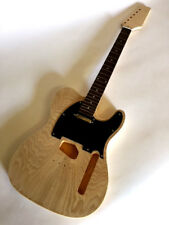 NEW BURL MAPLE CUSTOM SHOP TELE STYLE ELECTRIC GUITAR PROJECT BUILDER KIT