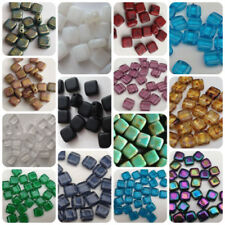 Glass & Lampwork Glass Square Jewellery Beads