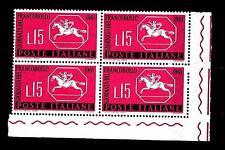 ITALIA REP. - 1961 - 3ª giornata del francobollo - 15 L. - Cavallino sardo STL