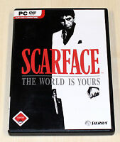 SCARFACE - THE WORLD IS YOURS - PC SPIEL - FSK 18 - DEUTSCH