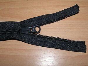 YKK Reißverschluss Fb. anthrazit, 62 cm lang Spirale