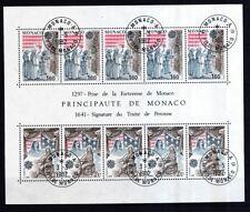 Monaco 1982 gestempelt MiNr. Block 19  Europa Historische Ereignisse