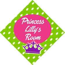 PRINCESS ROOM SIGN add name