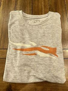 Sitka Gear Logo SS Tee Heather Gray NWT Large L