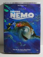 Disney Pixar Finding Nemo (DVD, 2003, 2-Disc Set)  w/Slipcover