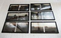 Six plaques verre 6 X 13 stéréoscopique guerre 14/18 année 1915
