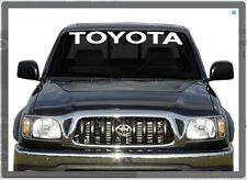 Sticker Decal for Toyota Hilux Windshield banner pick up D4D mk3 tundra turbo