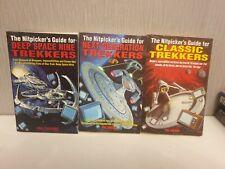 More details for star trek nitpickers guide for deep space nine + next generation trekkers books
