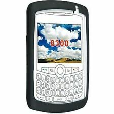 BlackBerry Curve 8300 Series Silicone Skin BLACK HDW-13840-007 NEW