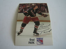 1988/89 ESSO NHL ALL-STAR COLLECTION BRAD PARK CARD***NEW YORK RANGERS***