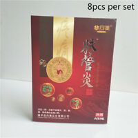 8X Chinese Traditional herbal medicine Patches Cure Spider Veins Varicose FU