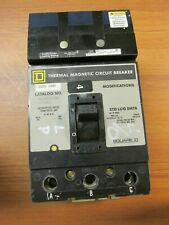 Square D Circuit Breaker 3 Pole, 225 Amp, Cat# Q232225H (Chipped). Wb-124