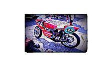 1967 ossa Bike Motorcycle A4 Retro Metal Sign Aluminium