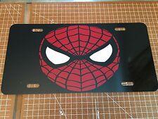 Spiderman CUSTOM LICENSE PLATE / CAR TAG