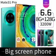 "Matt 31 pro Smartphone 6.6 "" 2k Voll Display 10 Core 8+128GB Smartphone 3G"