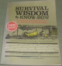 Survival Wisdom Country Wilderness Shelter Skills Hunting Trapping TWO Books!