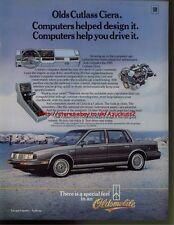 Oldsmobile Cutlass Ciera Car 1985 Magazine Advert #2468