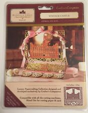 Crafters Companion Die'sire Diesire Create A Card Vintage Castle New/Sealed