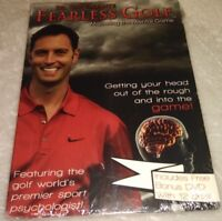Fearless Golf Mastering the Mental Game by Dr Gio Valiante 3 DVD - over 2 hours