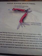 Frank West Dead Rising Multi-Tool Torcia Loot Crate gioco esclusivo Nuovo