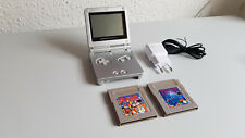 Nintendo Gameboy Advance SP con 2 juegos